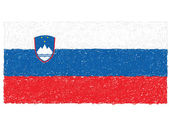 Flag of slovenia — Stock Vector