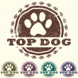 Royalty-Free Stock Vector Image: Top dog