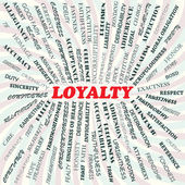 Loyalty — Stockvector