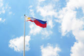 Philippine flag landscape — Stock Photo