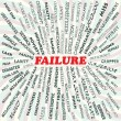 Failure - Stock Vector