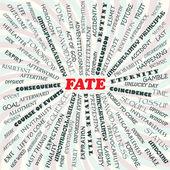 Fate — Stock Vector
