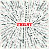 Trust — Stock Vector