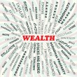 Stock Vector: Wealth