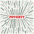 Poverty — Stock Vector