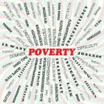 Poverty — Stock Vector
