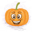 Happy pumpkin — Stock Vector #26420629