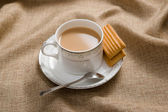 The teatime and leisure time — Stock Photo