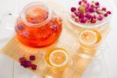 Té y té — Foto de Stock