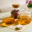 Tea on the table — Stock Photo