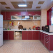 Stock Photo: Modern domestic kitchen