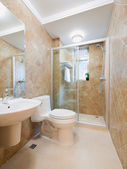 Banheiro modernos — Fotografia Stock