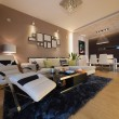 Stock Photo: Modern home interior