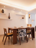 Modern dining room — Stockfoto