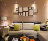 现代客厅 — 图库照片