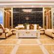 Luxury living room - Foto Stock
