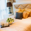 Comfortable bedroom - Foto Stock