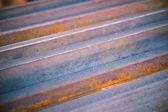 Closeup steel materials — Stock Photo