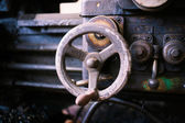 Zawór ciężkie maszyny — Zdjęcie stockowe