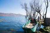 Beautiful Erhai lake — Stock Photo