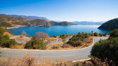 Beautiful Lugu lake — Stock Photo
