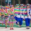 Chinese dancing in Zhuang ethnic Festival — Stock Photo #25367223