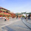 Beijing Qianmen Street shopping district — Stock Photo