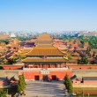 Overlook Forbidden City in evening — Stock Photo #25504739