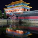 Постер, плакат: The Gate of Devine Might in Forbidden City