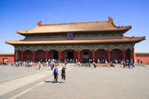The Hall of Preserving Harmony in Forbidden City — Stock Photo