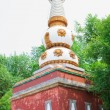 Stock Photo: Buddhist adornment tower