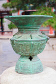 Bronze container in Summer Palace — Stock Photo