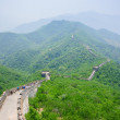 Stock Photo: Mutianyu Great Wall in China
