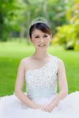 中国の花嫁のウェディング ドレス — ストック写真