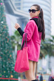 çin moda kadın — Stok fotoğraf