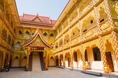 Thai Buddhist traditional palace — Stock Photo