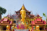 Figura do palácio de buda e budista — Foto Stock