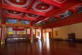 Thai Buddhist traditional palace interior — Stock Photo