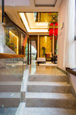 The interior decoration with Chinese style — 图库照片