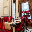 Luxury dining room — Foto Stock