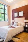 Comfortable bedroom — Stock Photo
