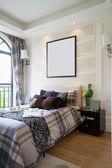 Confortevole camera da letto — Foto Stock