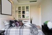 舒适的卧室 — 图库照片
