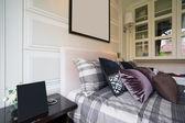 Pohodlné ložnice — Stock fotografie
