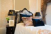 Comfortabele slaapkamer — Stockfoto