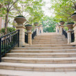 Steps in residential district — Stock Photo