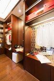Nice dressing room — Stock fotografie