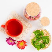 Tea and healthy lifestyle — ストック写真