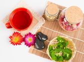 Tea and healthy lifestyle — Stock Photo