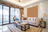 роскошная гостиная — Стоковое фото